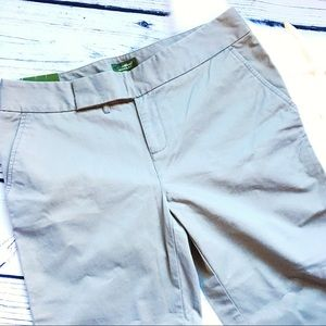 Eddie Bauer • Vashon Fit Olive Cropped Pants 8P